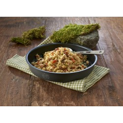 Sublimuotas maistas Kuskusas su vištiena