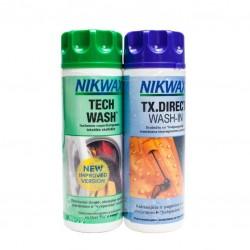 Nikwax skalbiklis plus impregnavimo priemonė