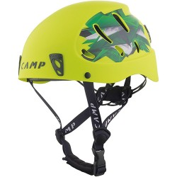 Šalmas Camp Armour Lime/Green